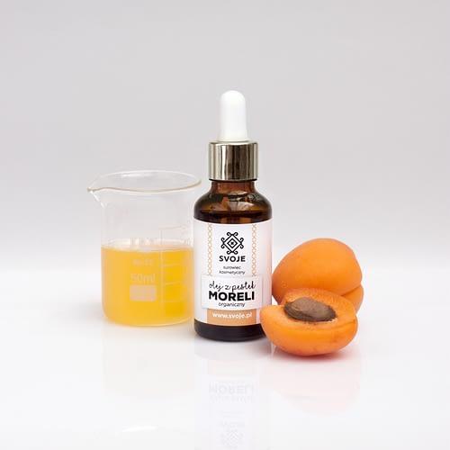 organiczny olej z pestek moreli